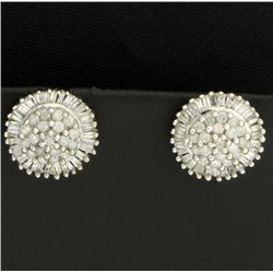 2 ct TW Diamond Earrings