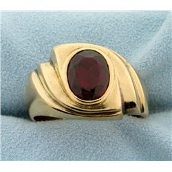 3ct Natural Ruby Ring