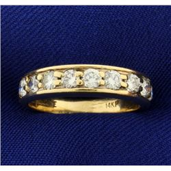 1ct TW Diamond Wedding Band Ring