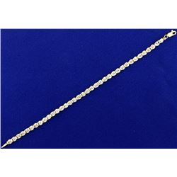 7 Inch Diamond Gold Tennis Bracelet