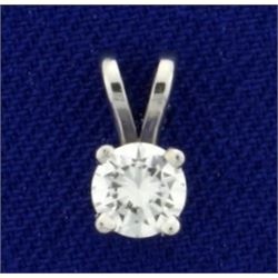 1/3ct Diamond Pendant in 14K White Gold