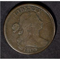 1803 LARGE CENT, FINE/VF  NICE!