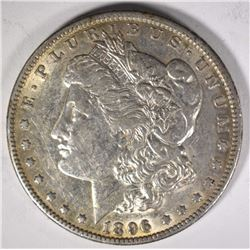 1896-O MORGAN DOLLAR, AU+