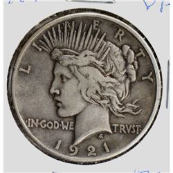 1921 PEACE DOLLAR VF KEY DATE