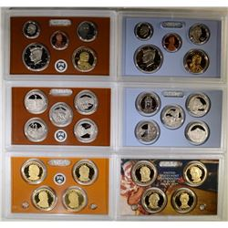 2010 & 2011 Proof Sets.