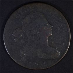 1801 DRAPED BUST LARGE CENT  FINE+