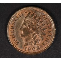 1906 INDIAN HEAD CENT CH BU R&B