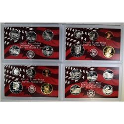 2 - 2006 U.S. SILVER PROOF SETS