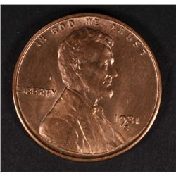 1931-S LINCOLN CENT, CH BU+