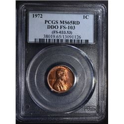 1972 LINCOLN CENT DDO FS-103 (FS-033.53)