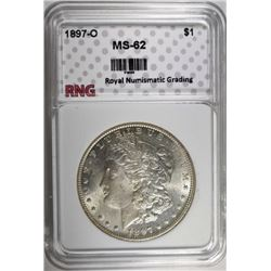 1897-O MORGAN DOLLAR RNG CHOICE BU