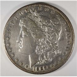 1889-CC MORGAN DOLLAR AU