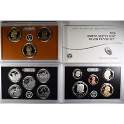 2016 U.S. MINT SILVER PROOF SET IN ORIG PACKAGING