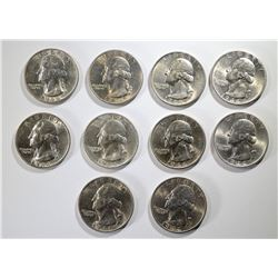 10-1944-S SILVER WASHINGTON QUARTERS