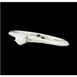 0.19 ctw Diamond Ring - Platinum