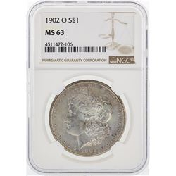 1902-O NGC MS63 Morgan Silver Dollar