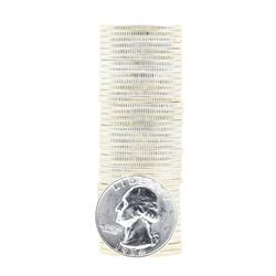 Tube of 40 1954 Washington Quarter Dollars