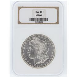 1900 NGC MS64 Morgan Silver Dollar