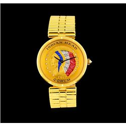 Corum Five Dollar Indian Head 18KT Yellow Gold Watch