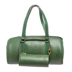 Louis Vuitton Green Epi Leather Soufflot Shoulder Bag