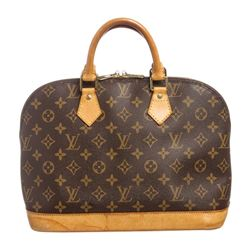 Louis Vuitton Monogram Canvas Leather Alma PM Handbag