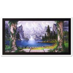 View From the Temple by Rattenbury, Jon