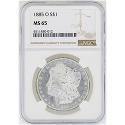 1885-O NGC MS 65 Morgan Silver Dollar