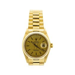 Gents Rolex 18KT Yellow Gold President Daydate Watch