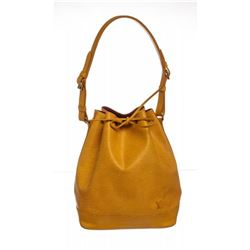 Louis Vuitton Yellow Epi Leather Noe GM Drawstring Shoulder Bag