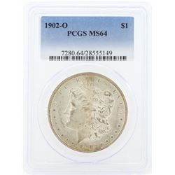 1902-O MS64 NGC Morgan Silver Dollar