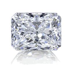 10ct Radiant Cut BIANCO Diamond