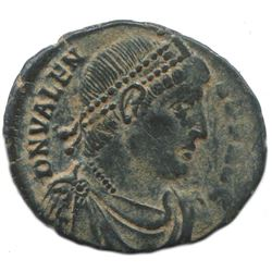 Authentic Late ROMAN Coin 2,3 gr/19 mm