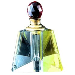 Perfume Bottles Full Cut 8011 Facet Lead Crystal Decorative Dauber Collectibles