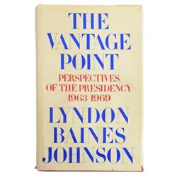 Autographed 1st Edition, President Lyndon Johnson