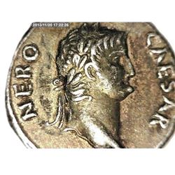 Vintage Copy Of Ancient Nude Roman Silver Coin. Coin Weight 2.93 Grams & It Is 21mm In Diameter