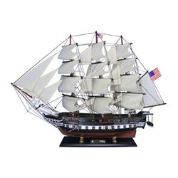 Wooden USS Constitution Tall Model Ship 24""