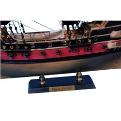 "Captain Kidds Black Falcon Limited Model Pirate Ship 24"" - Black Sails"