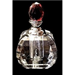 Perfume Bottles Full Cut 8013 Facet Lead Crystal Decorative Dauber Collectibles