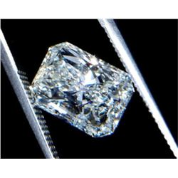 3.17 ct Radiant Cut BIANCO Diamond