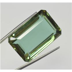 52 Ct Emerald Shape EGL Certified Color Changing Alexandrite Loose Gemstone