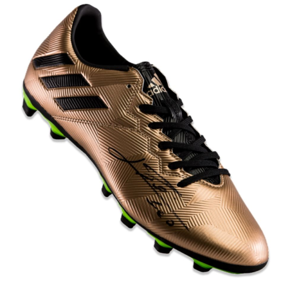Image 1   Lionel Messi Signed Adidas Soccer Cleat (Icons COA) 8390d7633c6