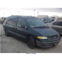 1996 - PLYMOUTH GRAND VOYAGER // BONDED TITLE