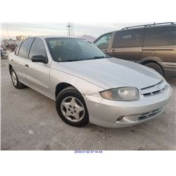 2004 - CHEVROLET CAVALIER//SALVAGE TITLE
