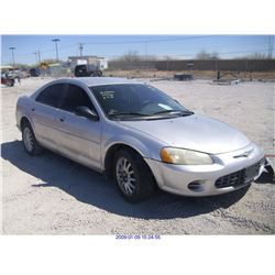 2003 - CHRYSLER SEBRING