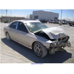 2003 - LINCOLN LS//SALVAGE TITLE// EXPORT ONLY