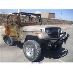 1994 - JEEP WRANGLER // PARTS ONLY