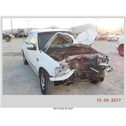 2000 - FORD F-150//REBUILT SALVAGE