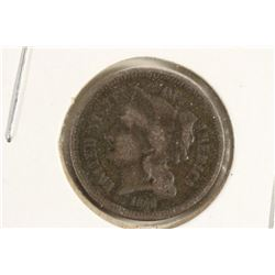 1868 THREE CENT PIECE (NICKEL)
