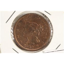 1842 US LARGE CENT