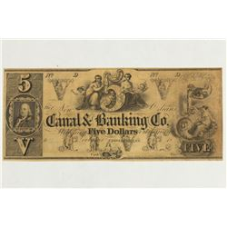 CANAL & BANKING COMPANY OF NEW ORLEANS $5